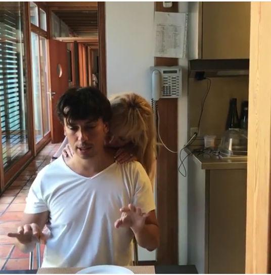 Ленка массаж видео