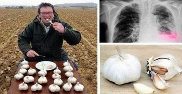 Этот мужчина ел чеснок каждое утро на голодный желудок и вот чем закончился его необычный эксперимент