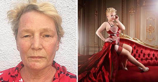 60-летних бабушек превратили в знойных красоток